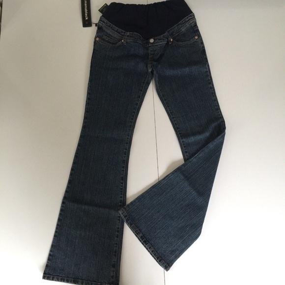8b97b4052b Mamablack Maternity Jeans Stretch